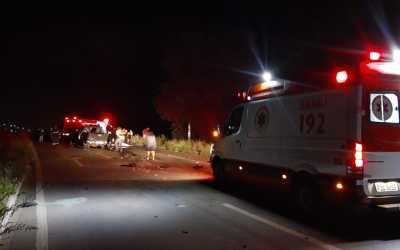 Acidente deixa uma vítima fatal em Pão de Açúcar, distrito de Taquaritinga do Norte