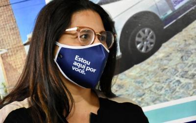 Prefeitura de Santa Cruz do Capibaribe entrega máscaras faciais para servidores públicos municipais