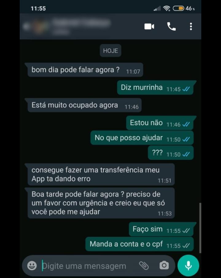 Usuários do WhatsApp em Santa Cruz do Capibaribe tiveram contas hackeadas