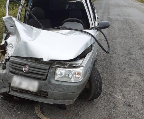 Mais um acidente é registrado na rodovia PE-160, em Santa Cruz do Capibaribe