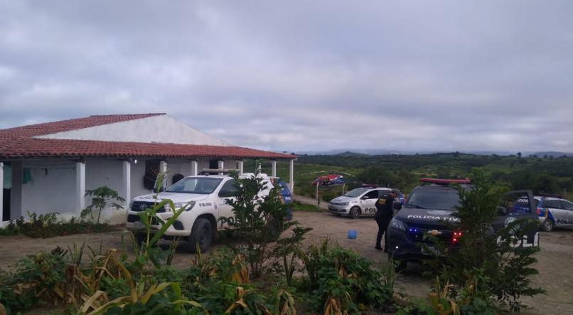 Ameaçados pelo PCC, policiais estão fazendo rodízio no Agreste de Pernambuco