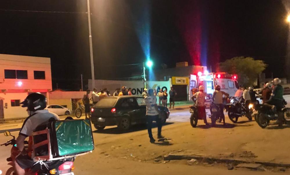 Motociclista fica gravemente ferido após acidente na PE-160