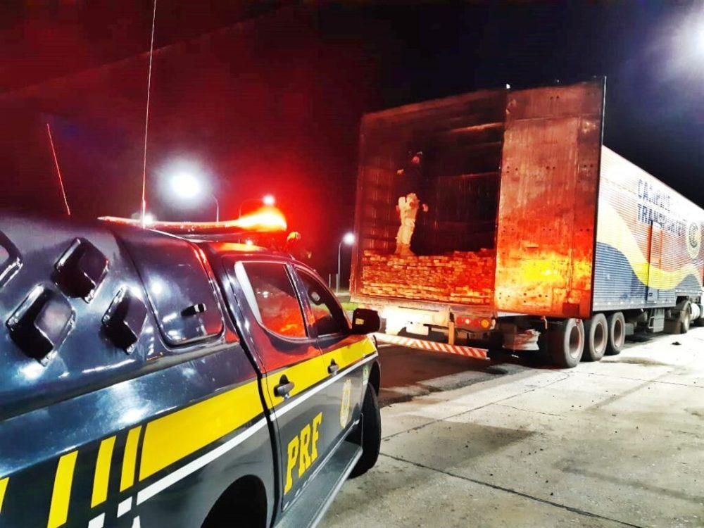 Paraíba – Madeira ilegal é apreendida pela PRF em Campina Grande