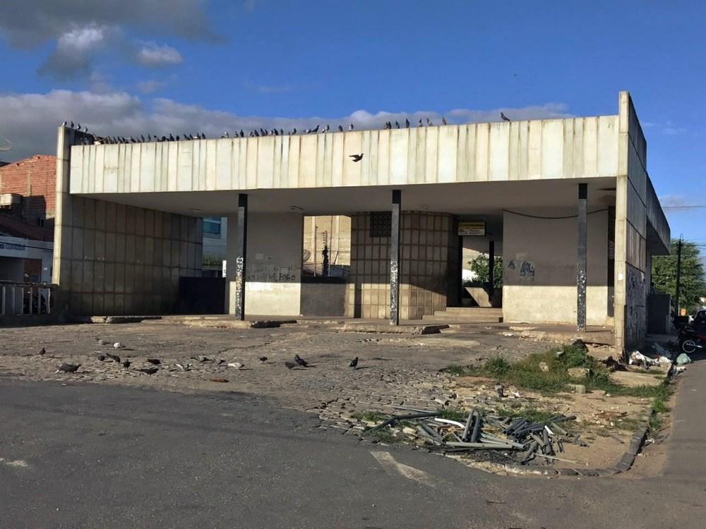 Em ruínas – Terminal Rodoviário de Santa Cruz do Capibaribe é motivo de vergonha para moradores da cidade