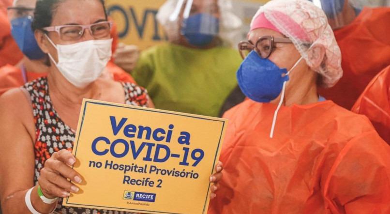 Pernambuco tem mais de 72 mil pessoas recuperadas do novo coronavírus