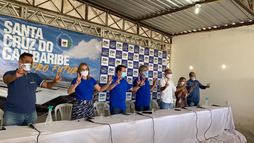 PSL deixa base da 3ª via e apoiará Dida de Nan