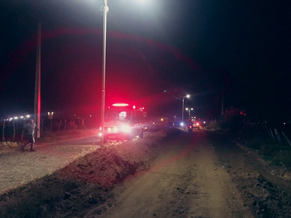 Acidente é registrado no acesso da Malhada, em Santa Cruz do Capibaribe