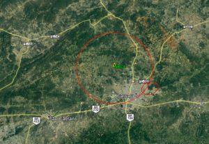 Registrado pequeno tremor de terra na noite desta quinta-feira em Caruaru