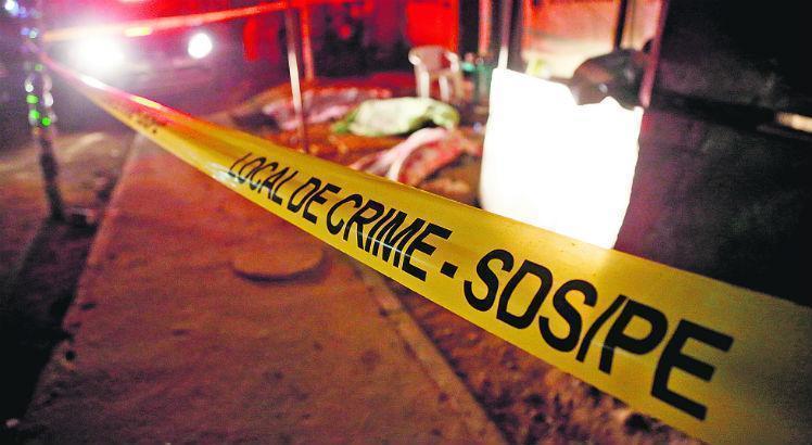 Registrados 38 homicídios no fim de semana em Pernambuco e número de assassinatos passa de 3 mil