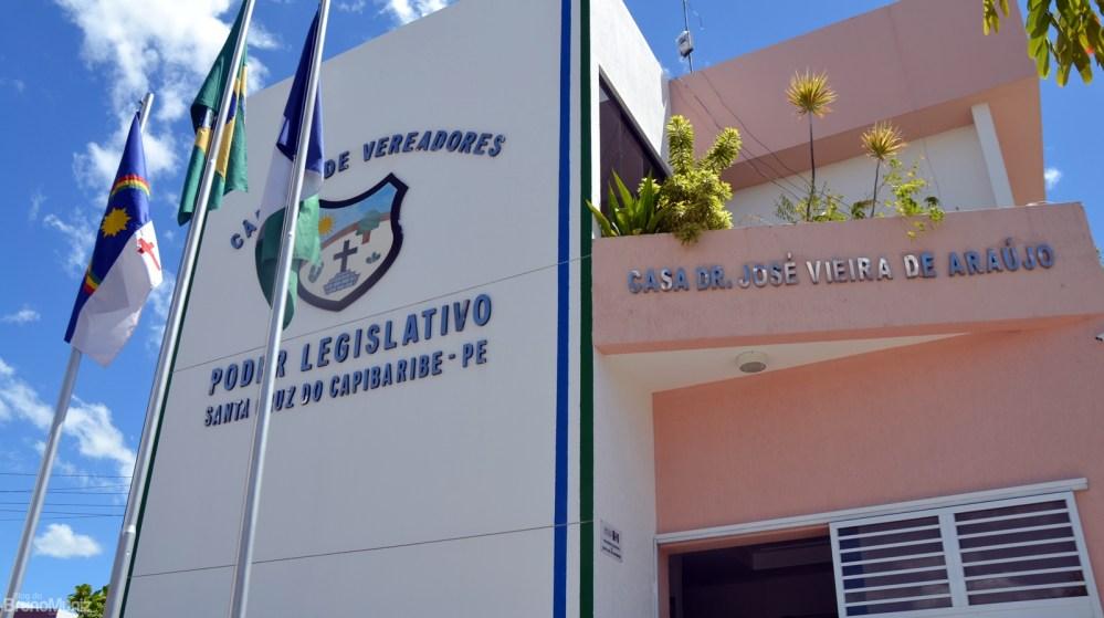 Vereadores de Santa Cruz do Capibaribe participam de mais uma sessão plenária