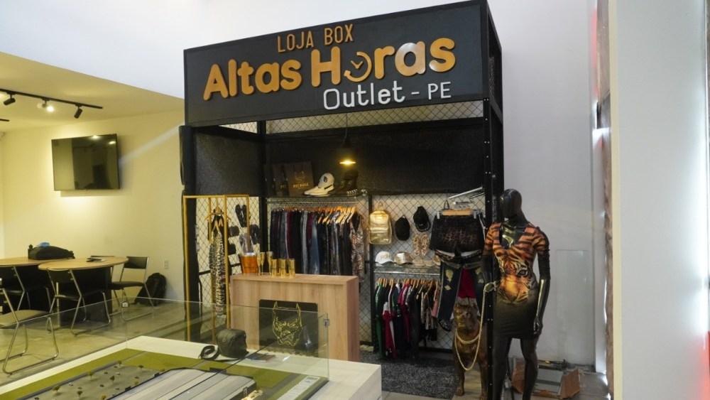 Outlet Altas Horas-PE conta com exclusivo modelo de loja-box em Santa Cruz