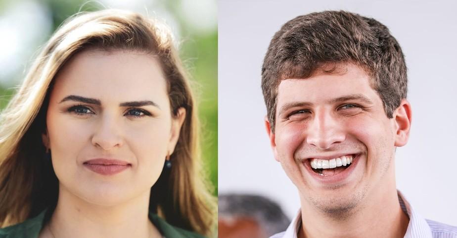No Recife, João Campos e Marília Arraes seguem para o segundo turno