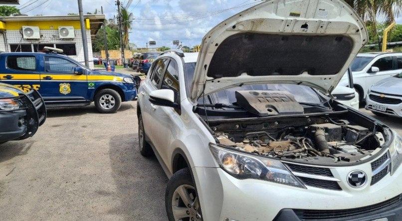 PRF recuperou 28 veículos roubados durante operação em Pernambuco