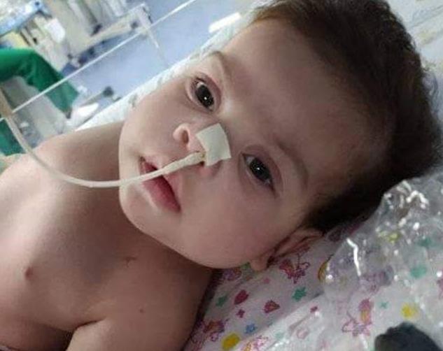 Em Jataúba bebê de apenas 6 meses precisa de ajuda para realizar cirurgia de urgência no coração