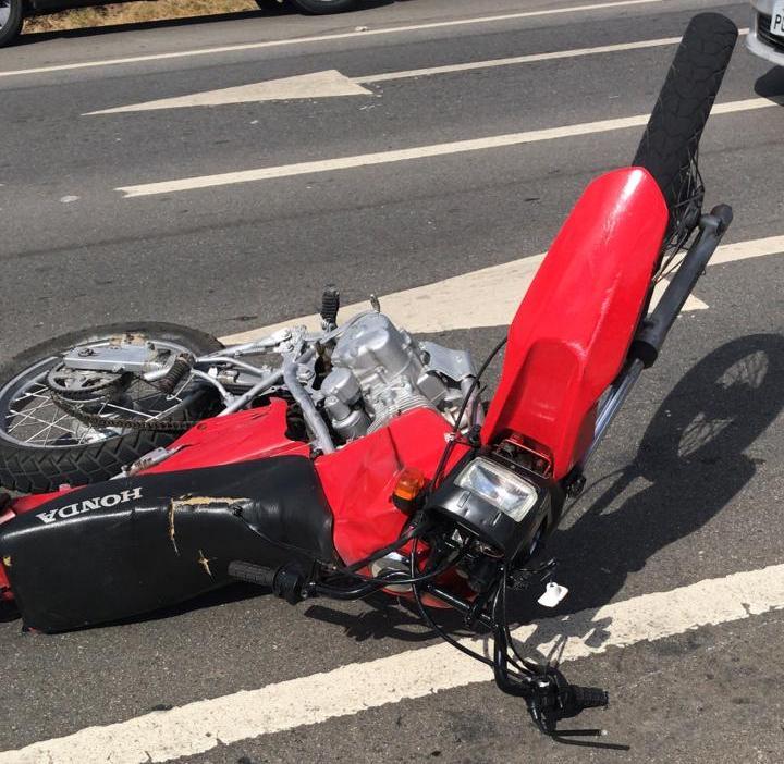 Devido a alta velocidade, homem fica gravemente ferido após acidente na PE-160 no distrito de Pão de Açúcar