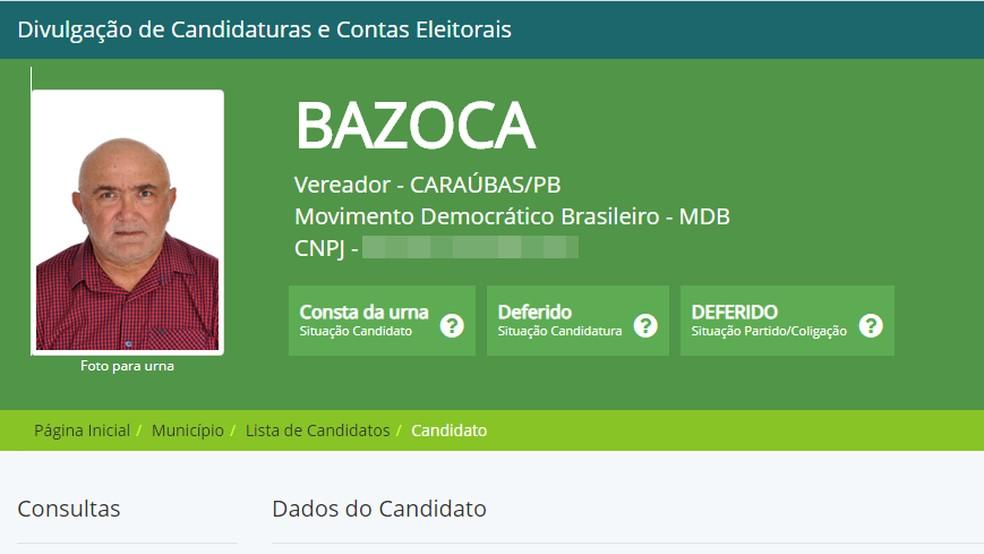 Vereador eleito morre de infarto durante apuração dos votos em Caraúbas/PB