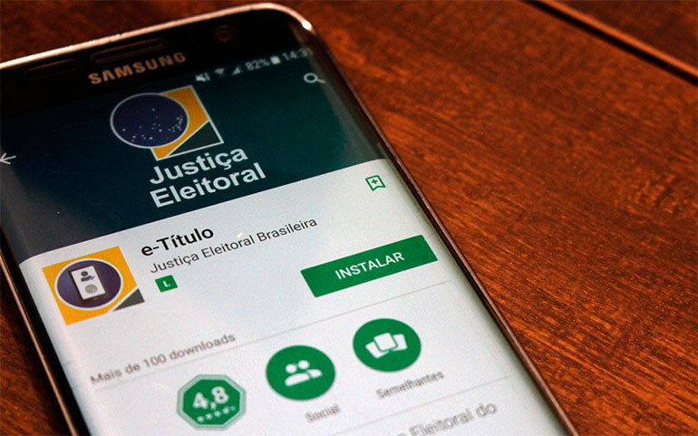 Justificativa por ausência de voto deve ser feita pelo aplicativo e-Título
