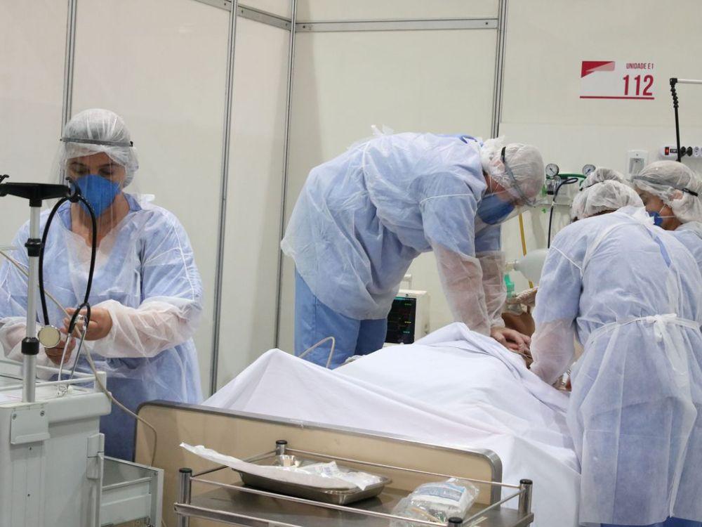 Em Pernambuco, mais de 22 mil profissionais da saúde se contaminaram com a Covid-19