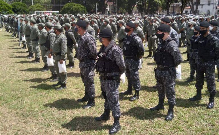 Polícia Militar divulga esquema de segurança para o final do ano em Pernambuco