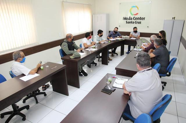Reunião entre Moda Center, Prefeitura e 24º BPM volta a abordar questões associadas ao centro atacadista