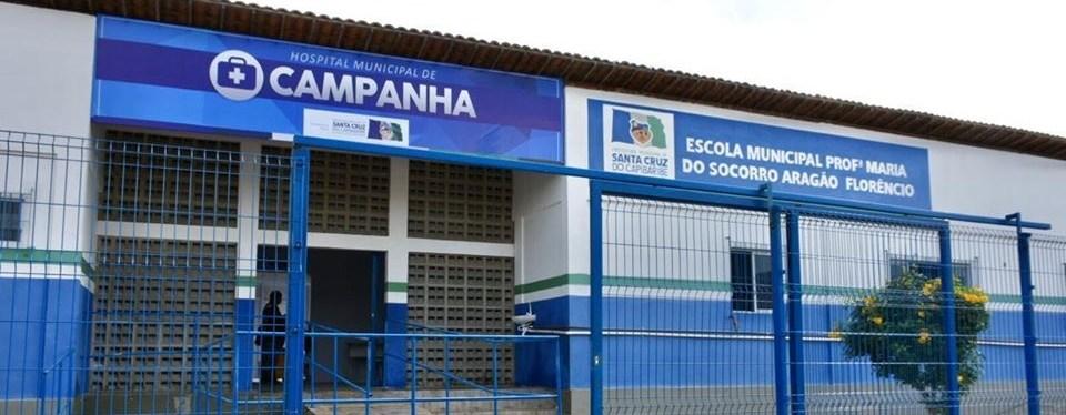 Hospital de campanha em Santa Cruz do Capibaribe deve ser reaberto