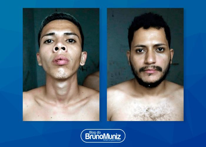 Assaltantes presos após assalto em Santa Cruz forneceram nomes falsos para polícia