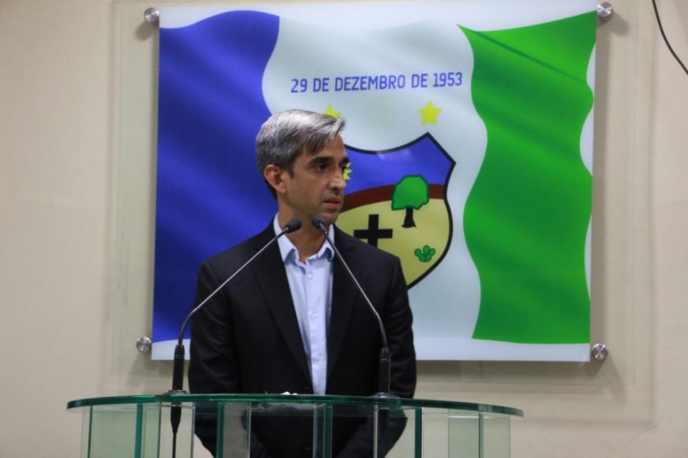 Fábio Aragão defende que vereadores e prefeitura trabalhem juntos num só propósito