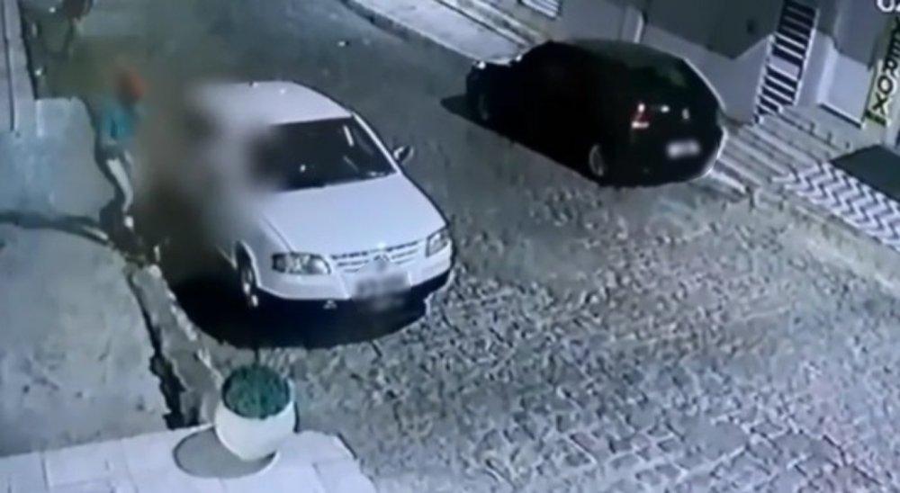 Família é alvo de assalto e tem carro levado por suspeitos em Toritama