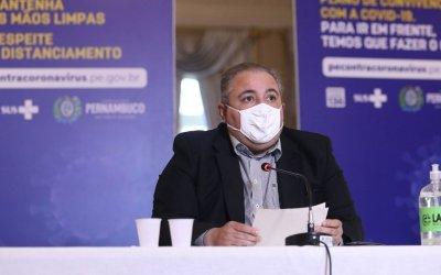 Secretário de Saúde diz que Pernambuco poderá adotar medidas mais restritivas nos próximos dias
