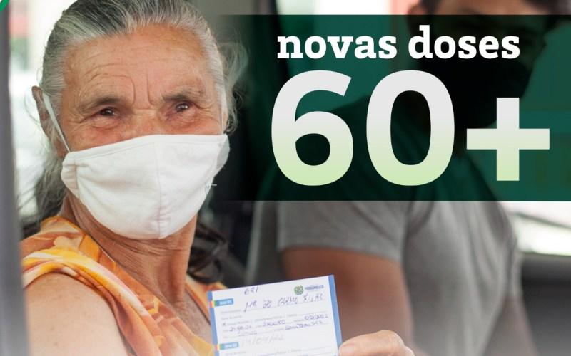 Santa Cruz inicia vacinação contra a covid-19 em idosos acima de 60 anos