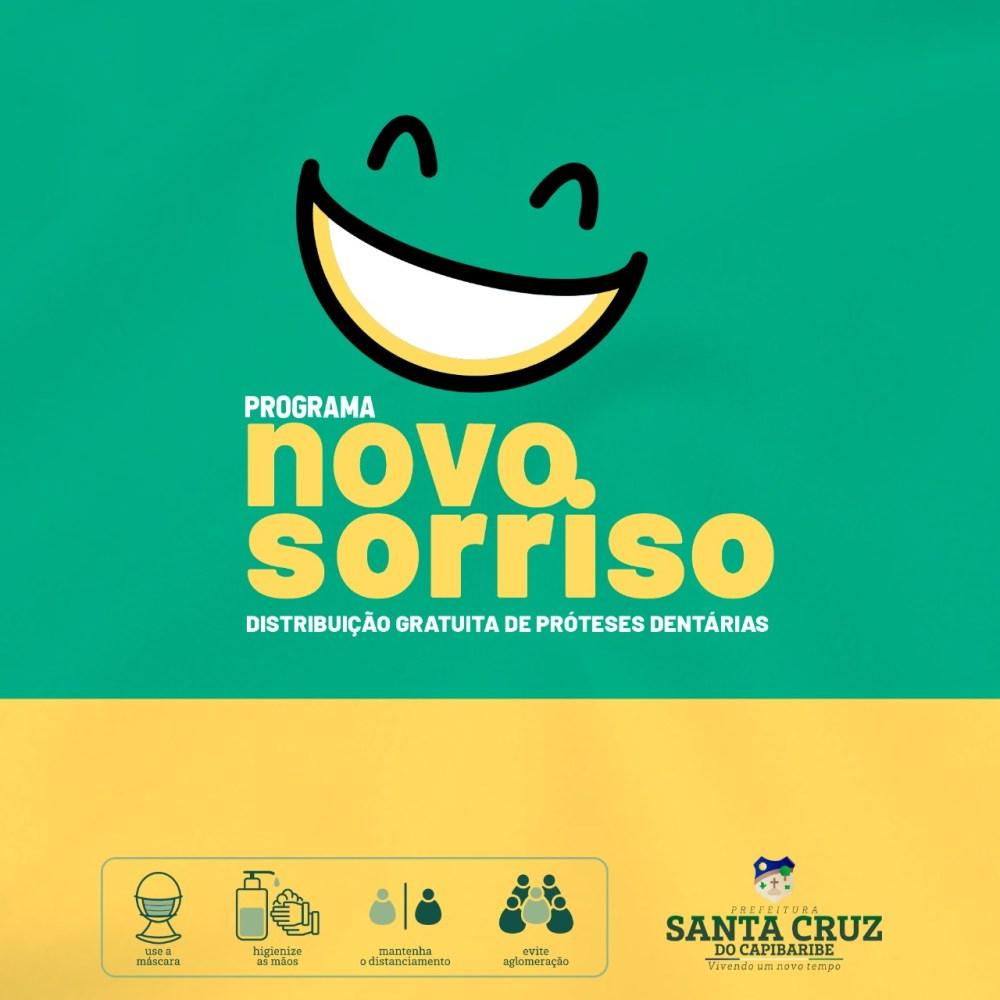 Santa Cruz inicia programa de fabricação e distribuição de próteses dentárias