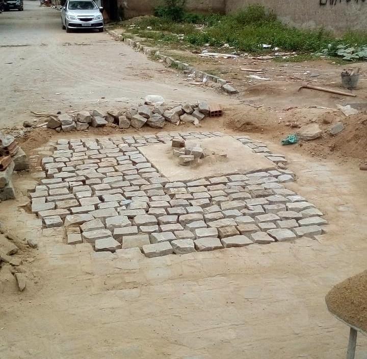 Prefeitura inicia reparos em buraco que foi alvo de reclamações de moradores no Santa Tereza II