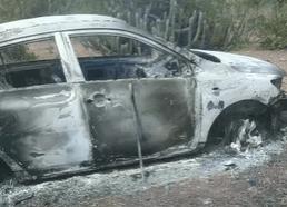 Veículo utilizado por criminosos que executaram homem em Jataúba é localizado completamente queimado no Congo, PB