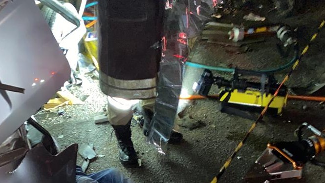 Acidente durante a chuva deixa uma pessoa morta na BR-104, em Caruaru