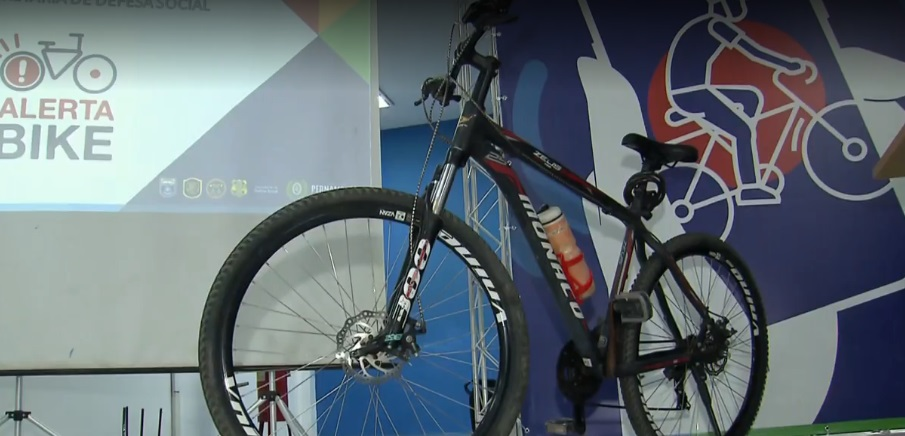 Lançado em Pernambuco programa para combater roubos e furtos de bicicletas