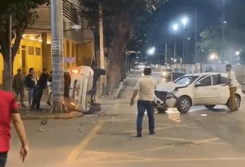 Grave acidente é registrado na área central de Caruaru