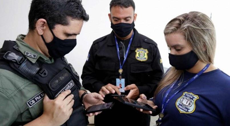 Em Pernambuco, nova tecnologia ajuda Polícia Militar a registrar ocorrências de crimes