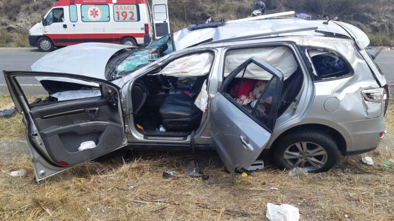 Acidente deixa cinco pessoas feridas na BR-232, em Gravatá