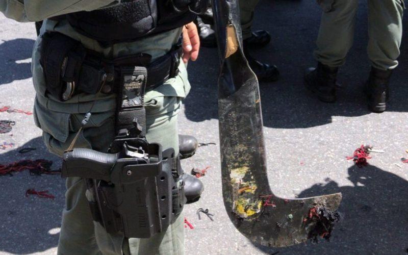 Pelo menos seis pessoas foram detidas por vandalismo durante atos na PE-160