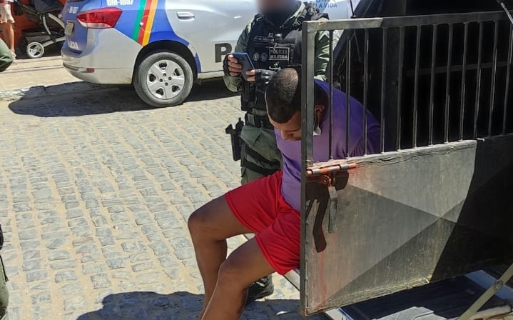 Indivíduo que furtou equipamento de som é preso em Santa Cruz do Capibaribe