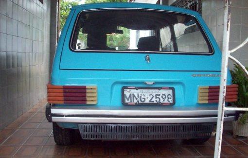 Naná, a Brasília azul que acompanha Pedro Nunes há 35 anos