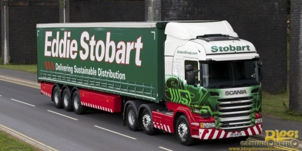 Eddie Stobart - Scania Euro 6