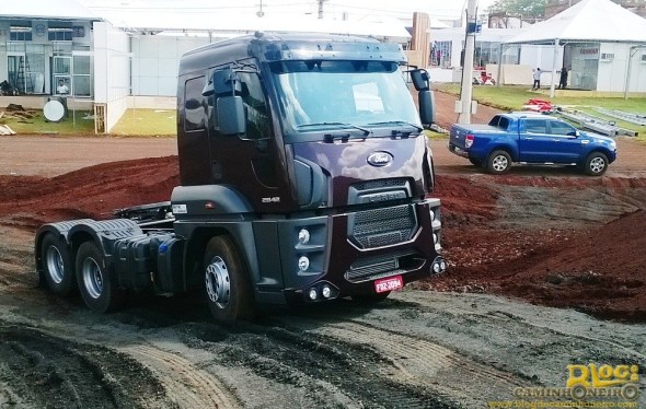 Ford at Agrishow 2014 in Brazil