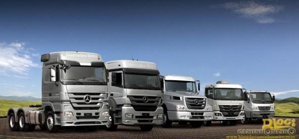 Caminhoes Mercedes-Benz