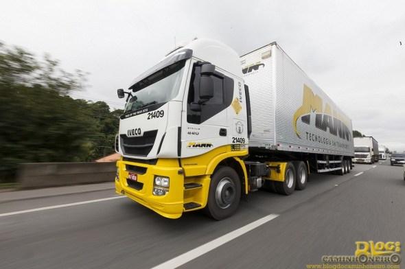 PG1COM-IVECO HI-WAY. Transportadora MANN-Joinville