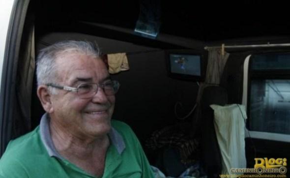 Pedro Duarte também assistiu a partida da boléia. (Foto: Cleber Gellio)