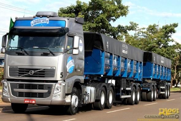 Caravana Librelato - Volvo FH