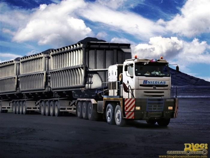 Nicola Tractomas - Um gigante do asfalto