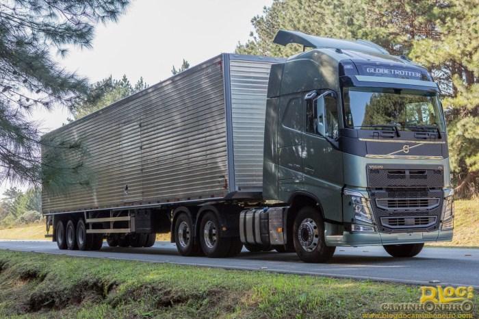 Nova Linha Volvo FH 2014 - Brasil (1)
