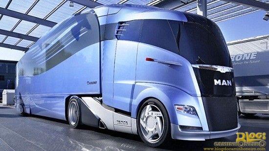 Caminhão MAN streamline